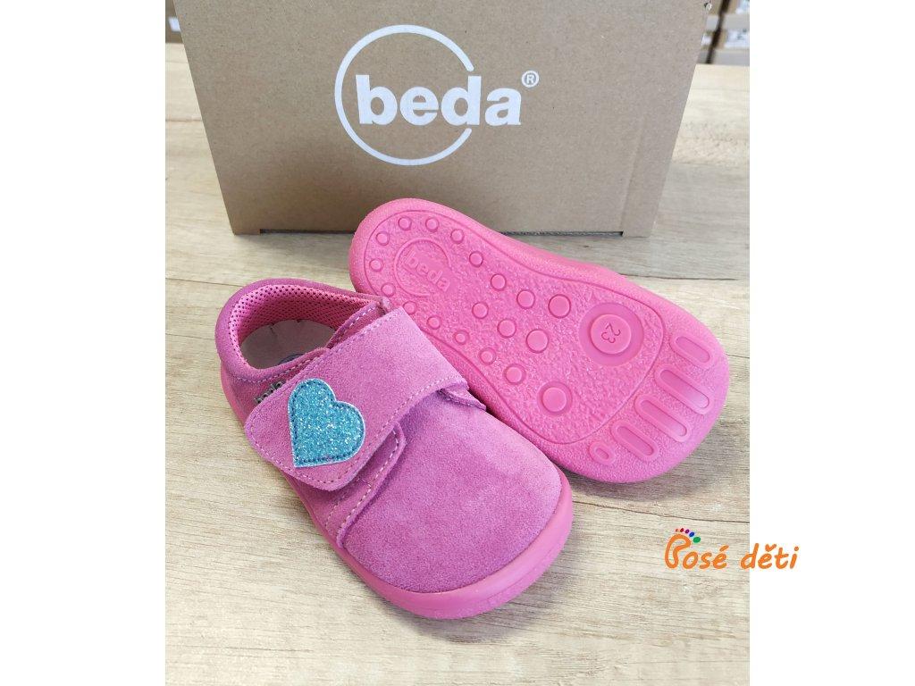 Beda Blue Heart - nízké