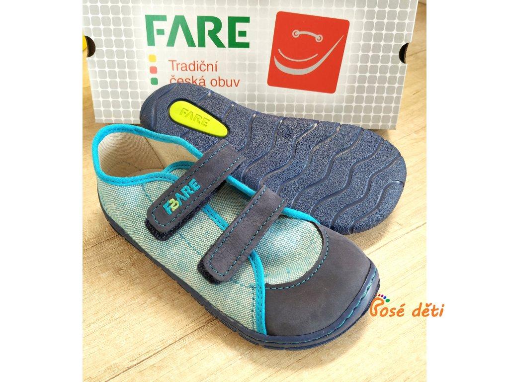 Fare Bare 5115401 - plátěnky modré