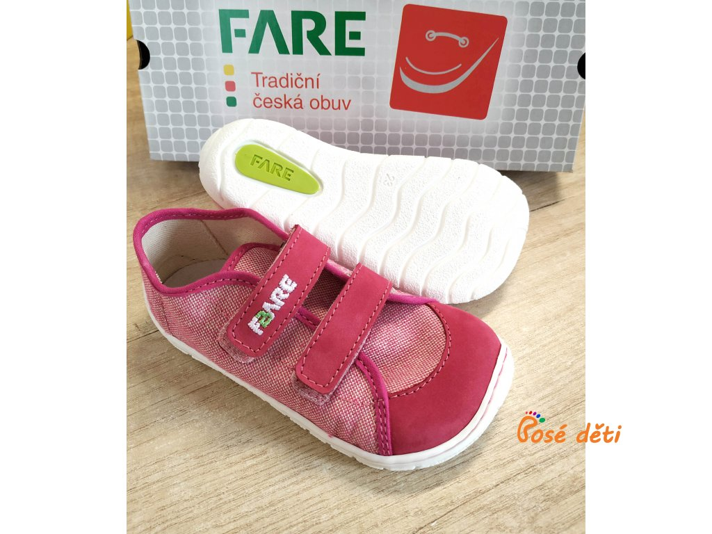 Fare Bare 5115451 - plátěnky růžové