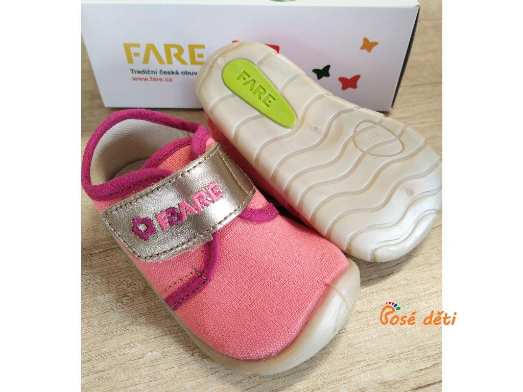 Fare Bare 5011491 - plátěnky růžovozlaté