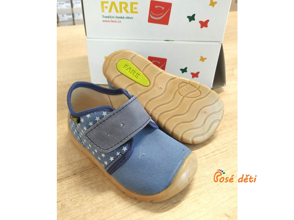 Fare Bare 5011402 - plátěnky hvězdičky