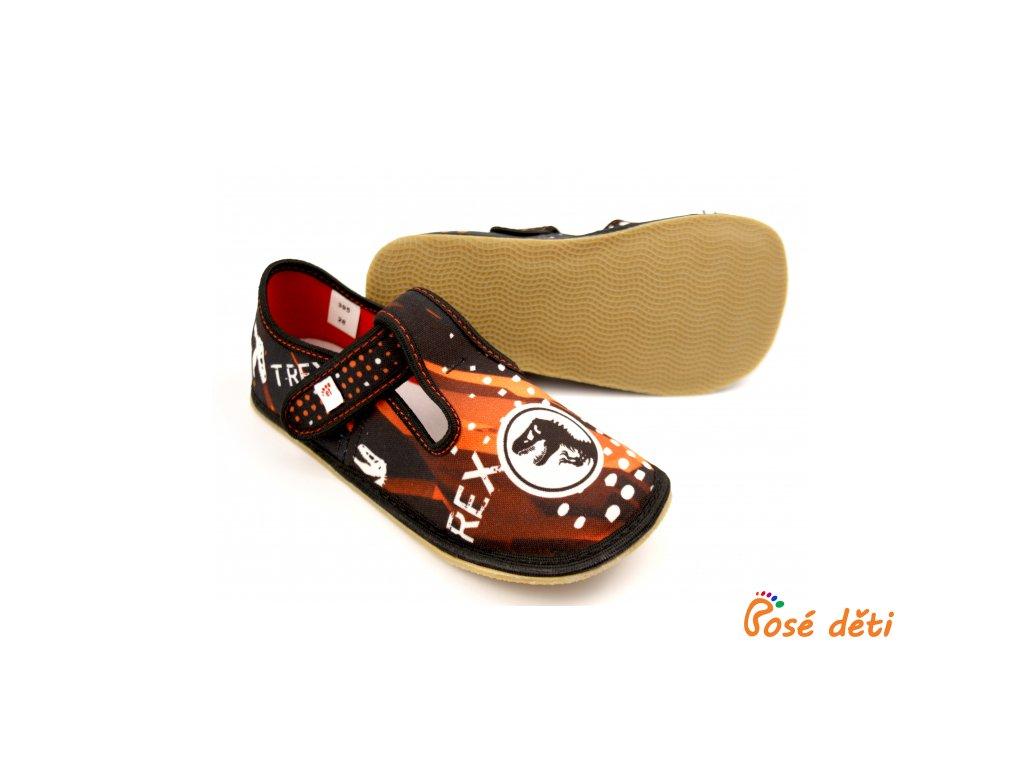 EF barefoot 395 Czarny Trex