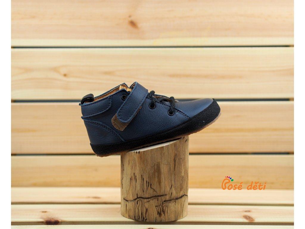 Barefoot Pegres kotníkové BF32 - modré