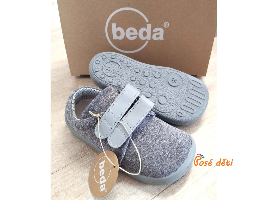 Beda Soft Grey - nízké