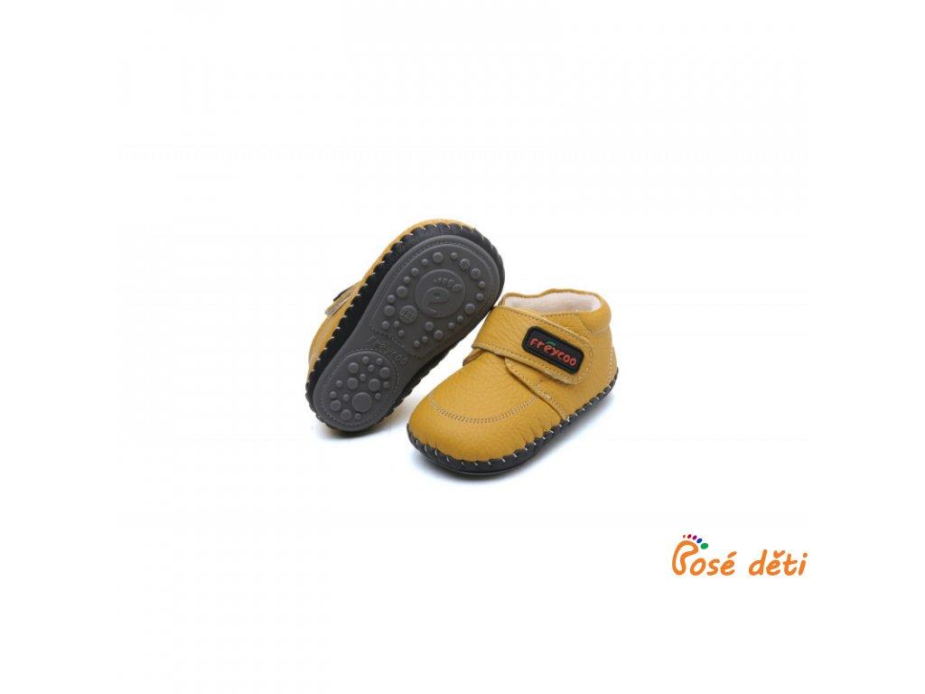 Freycoo Baby ZIMNÍ Matúš žluté