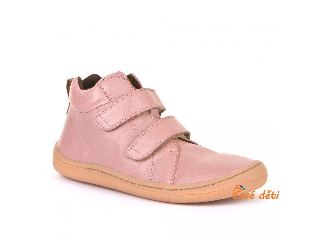 Froddo Barefoot Ankle Boot Pink - jaro