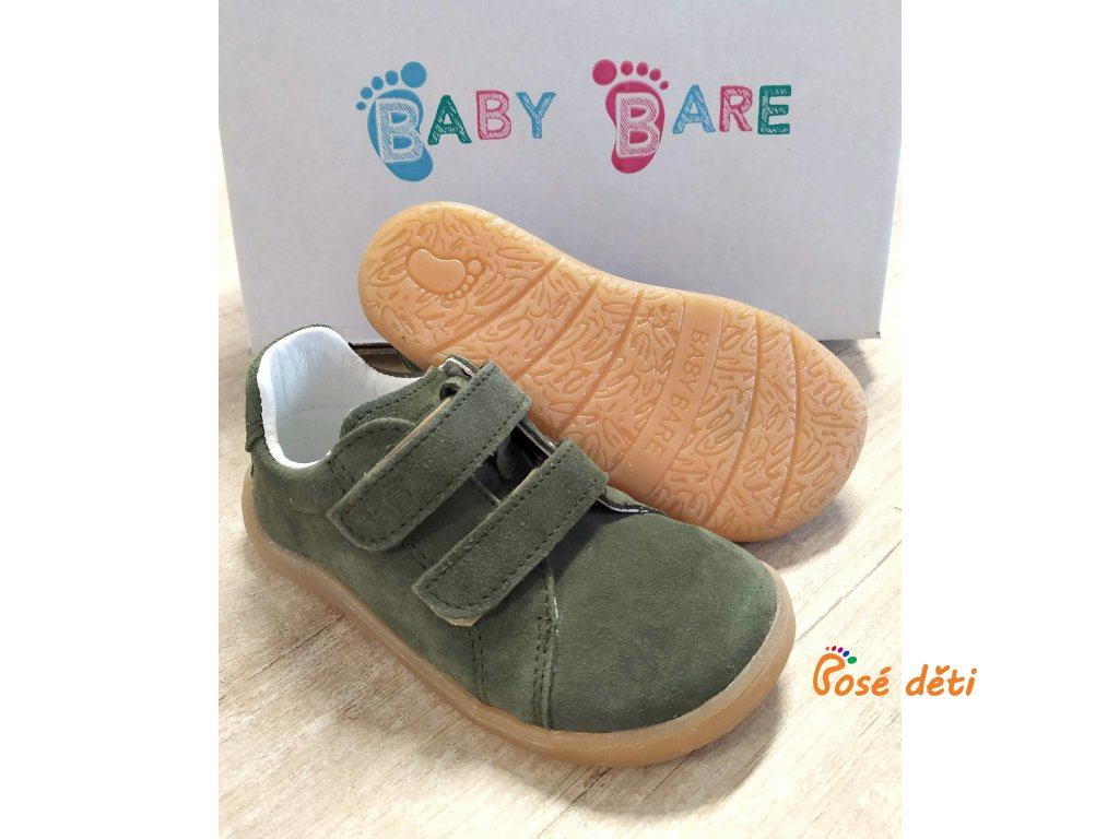 Baby Bare Shoes - FEBO Spring Army