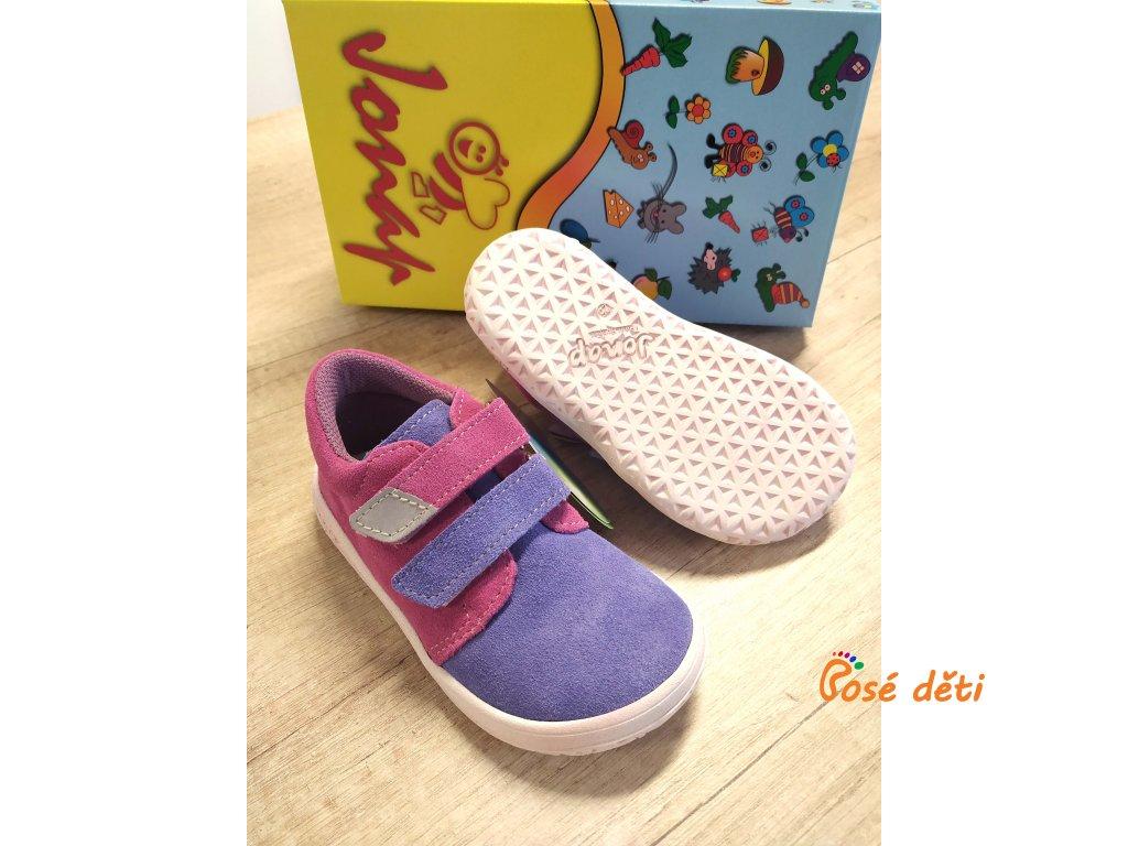 Jonap B1/S/V - fialová/růžová