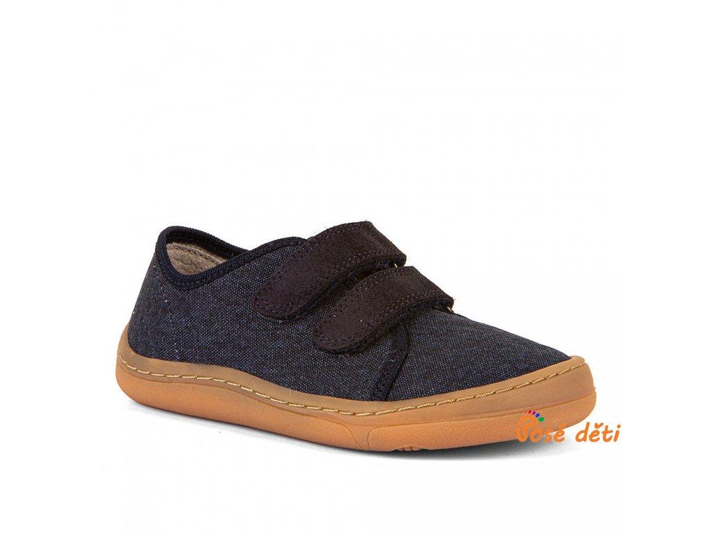 Froddo Barefoot plátěnky Dark Blue