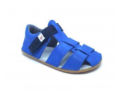 EF barefoot sandálky Modrá