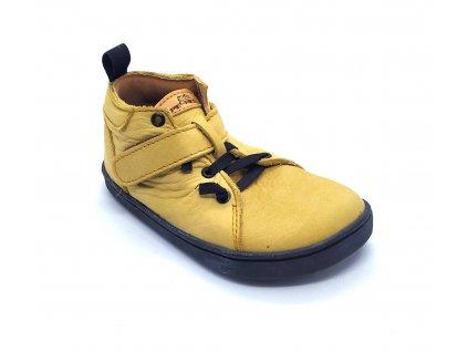 Barefoot Pegres kotníkové BF52 - žluté