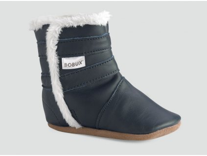 Bobux Boot Soft Sole - Navy