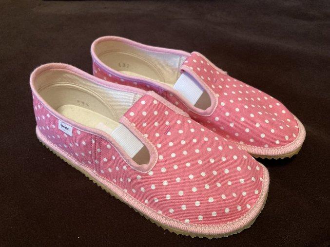 Beda bačkory BF 060010/W růžové koník
