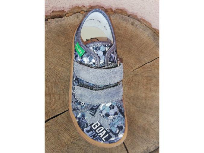 Froddo Barefoot plátěné tenisky Gray