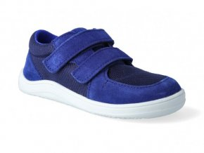22152 1 barefoot tenisky baby bare febo sneakers navy 2(1)