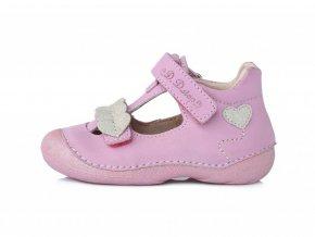 D.D. Step 015 - 174 Baby Pink Sandále