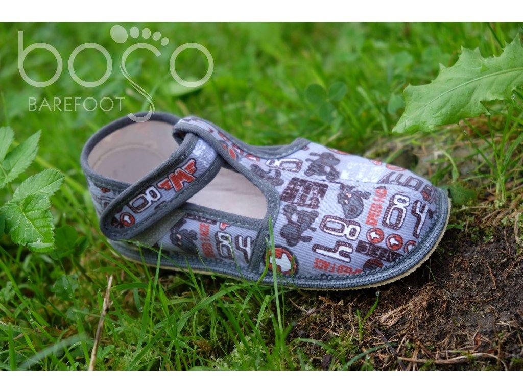 beda papuce sede znaky 1