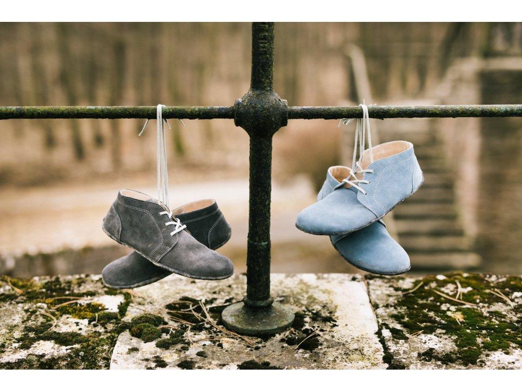 barefoot lenka elegance celorocni grey jeans