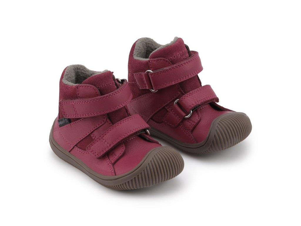 bundgaard walk velcro tex rose wine 2