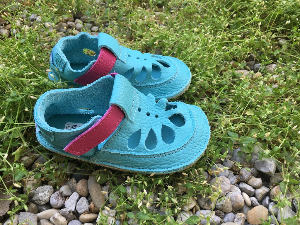baby bare shoes flower 2