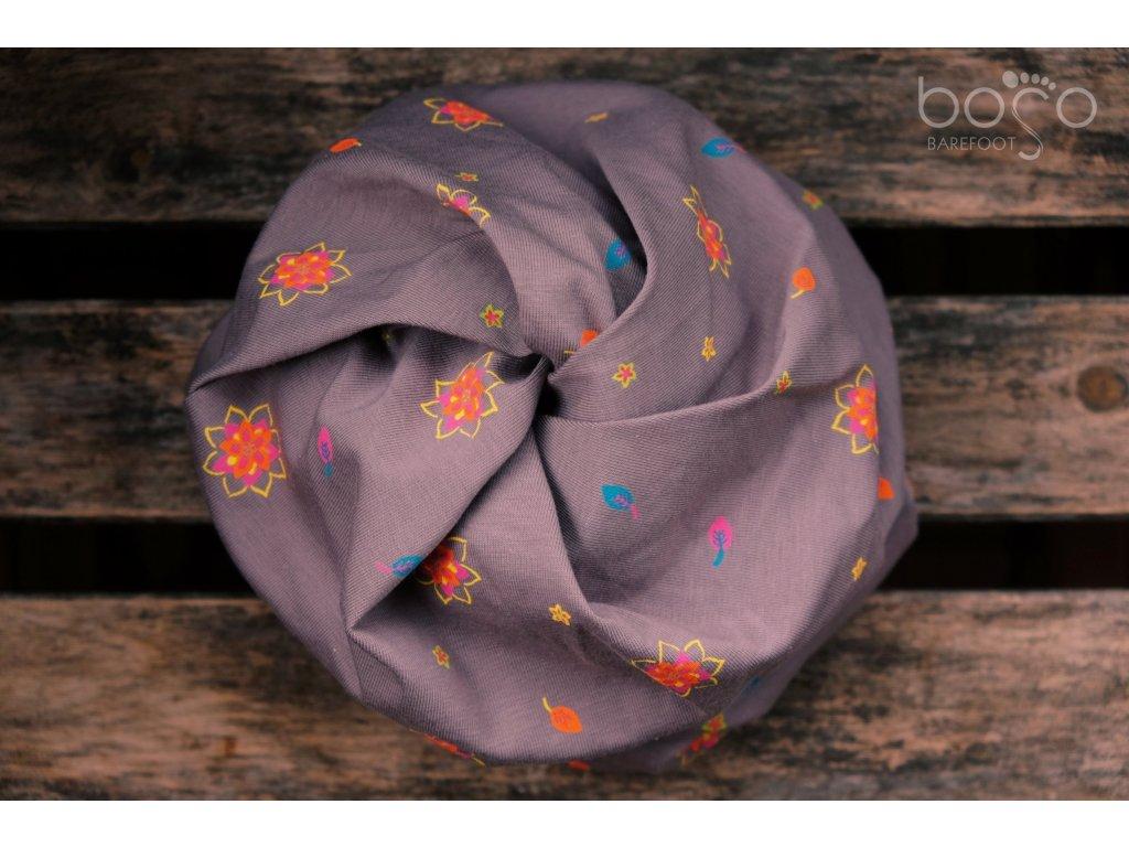 boso cepice twist neon flowers 1