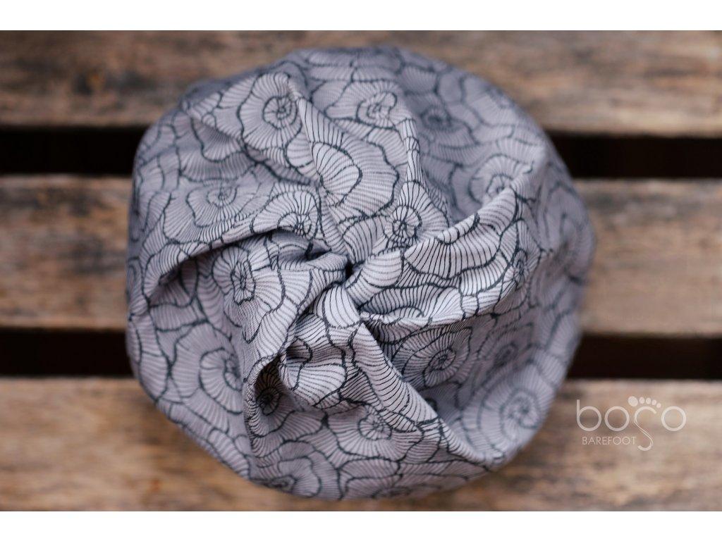 boso cepice twist grey shells 1