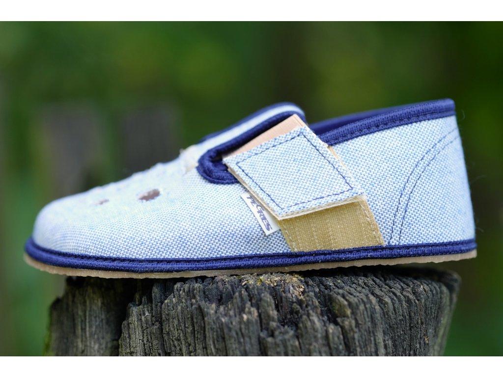 Pegres papučky BF03 modré