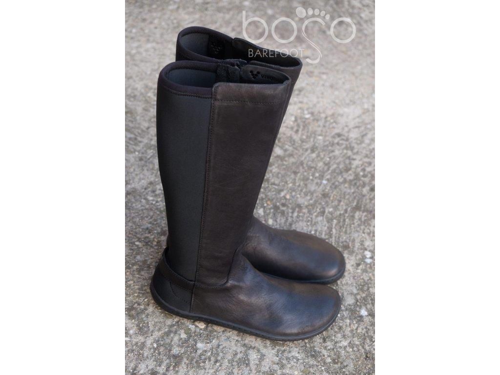vivobarefoot ryder black 1