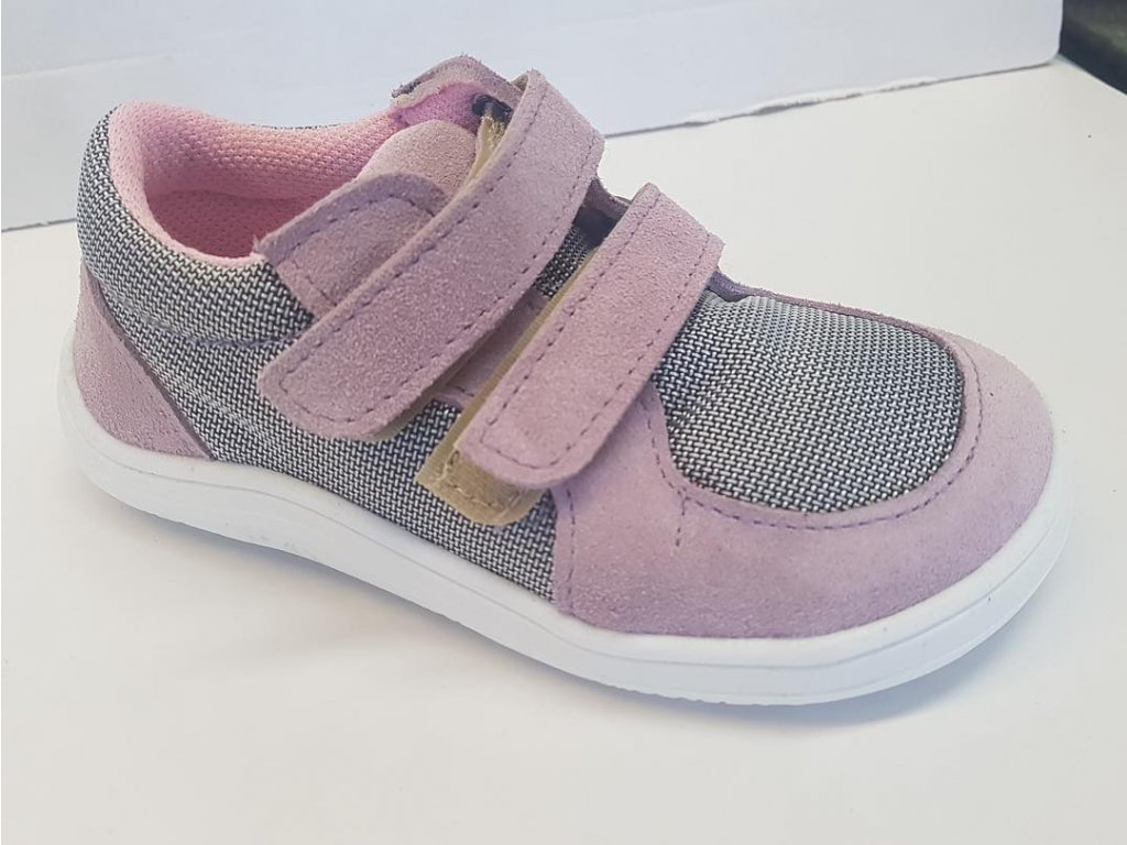 baby bare shoes febo sneakers pink 2
