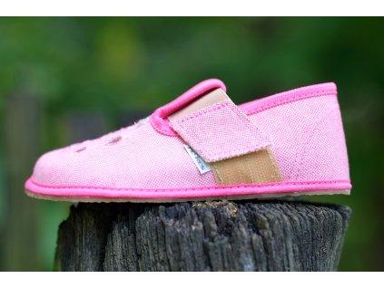 Pegres papučky BF03 růžové