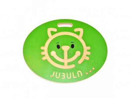 houpee jubula cat green