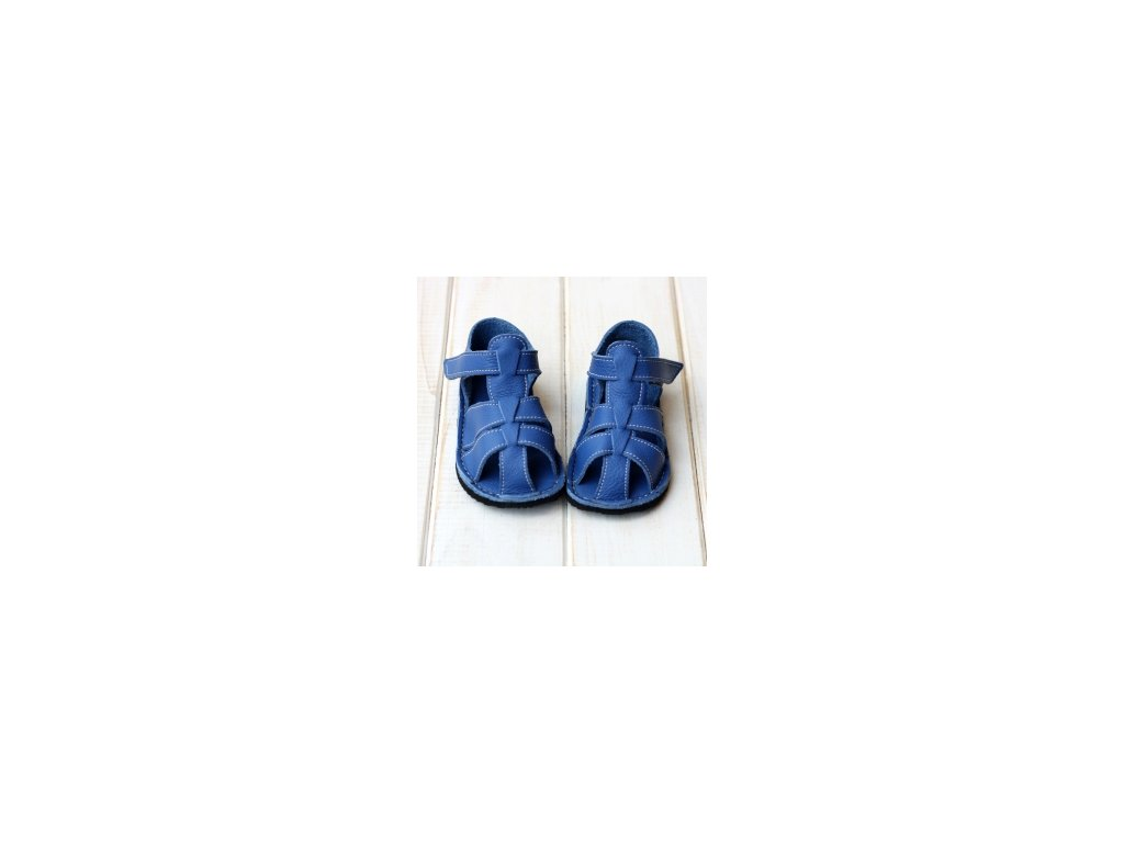 ZEAZOO - GOBY Blue sandálky vel 18