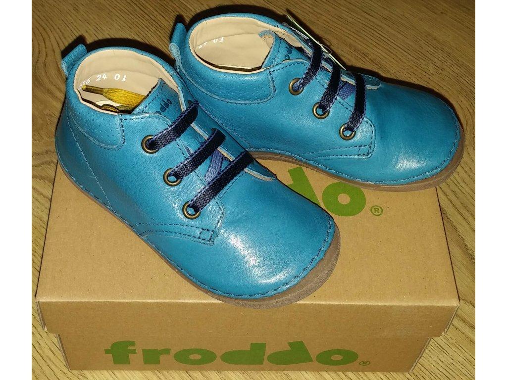 FRODDO - G2130145-1 Dark Denim celoroční obuv vel 22-24