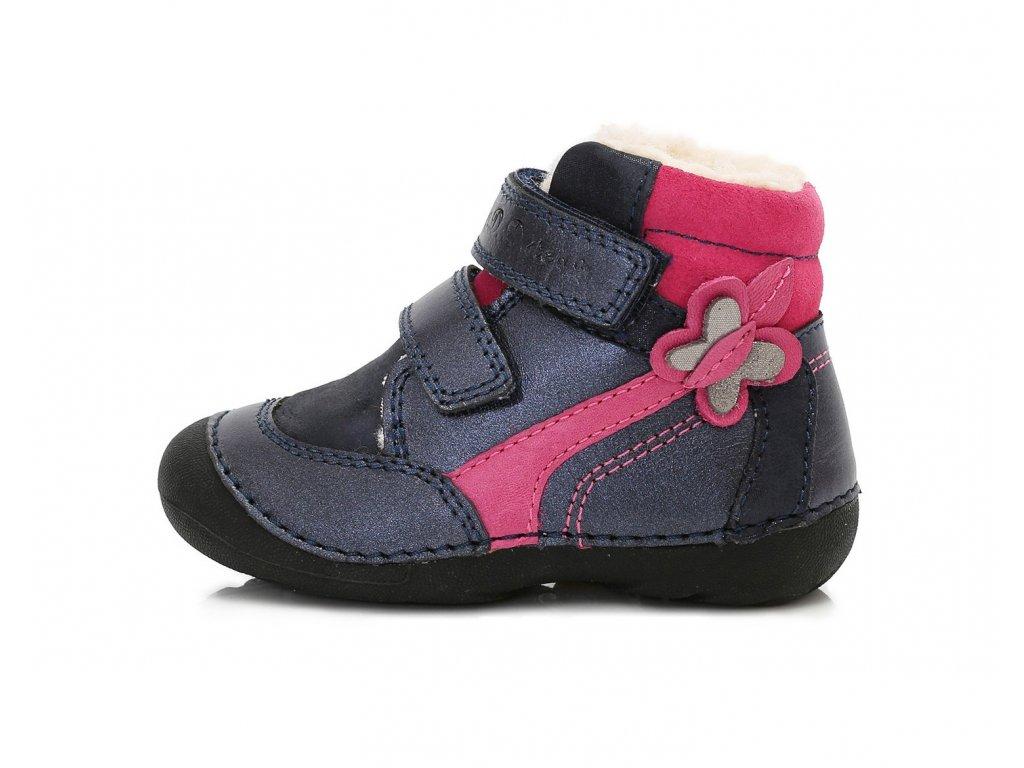 D.D. STEP - 015-157B zimní obuv vel 22 - 24  7c9e4d8b30