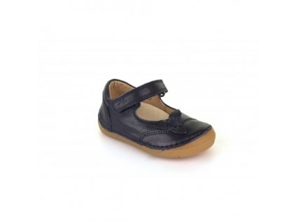 girls navy leather shoes with flexible sole froddo g2140025 4 p3225 7453 medium