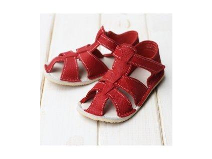 ZEAZOO - GOBY Red sandálky vel 16/17