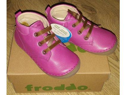 FRODDO - G2130145-7 Cyclamen celoroční obuv vel 22-24