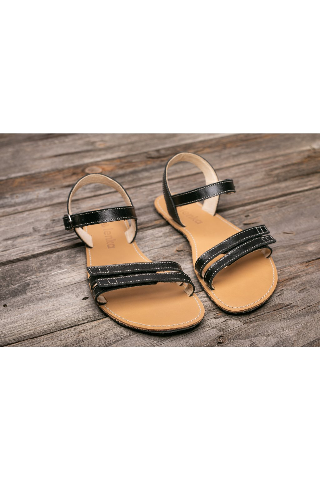 Be Lenka barefoot Summer sandály black