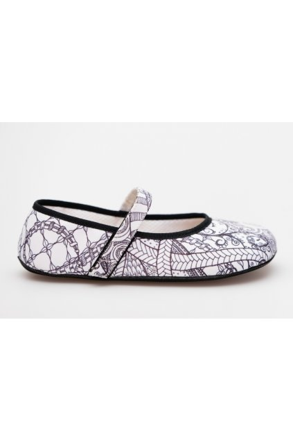 zentangle barefoot balerinka