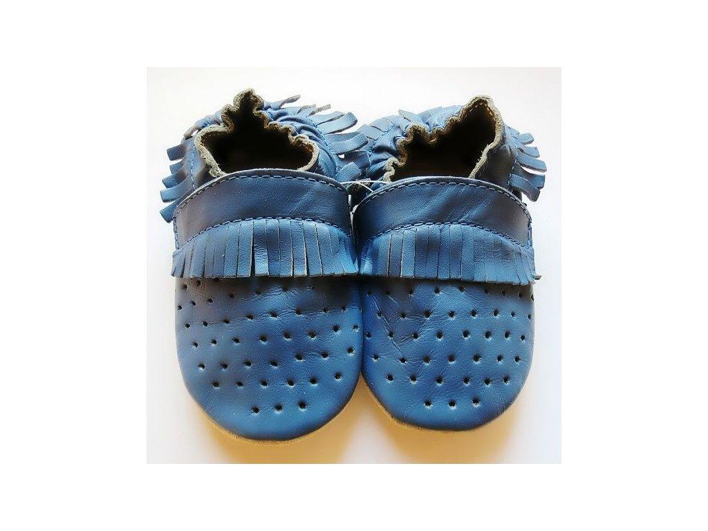 809f15999ad CAPIKI mokasíny modré - bosoneboso