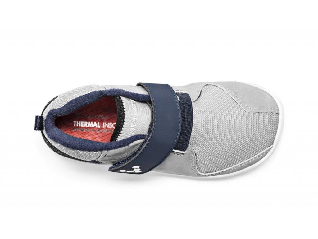 Vivobarefoot PRIMUS BOOTIE K Grey Navy. 1 z 7. 1a 1b 1c 1d 1e 1f d998b71a42