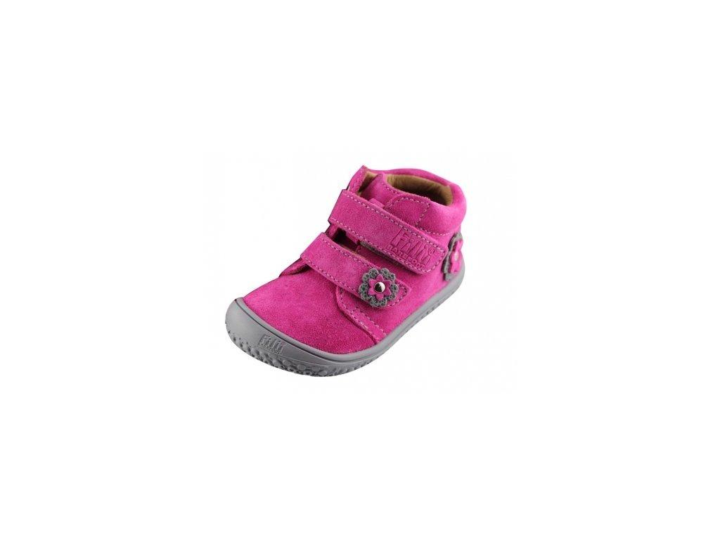 fc6524130e2 Filii barefoot - CHAMELEON velcro velours pink M - bosoneboso