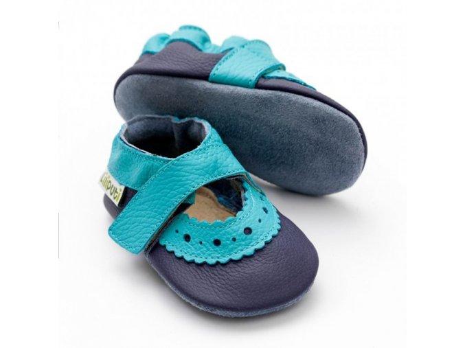 sandale liliputi sahara blue 146