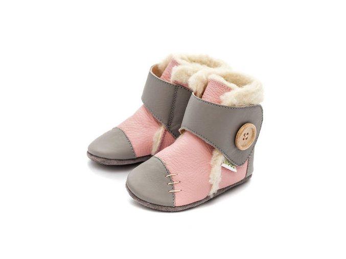 Liliputi zimní botičky Pearl