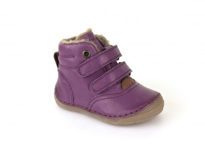 Froddo Winter Boots Purple s kožešinou