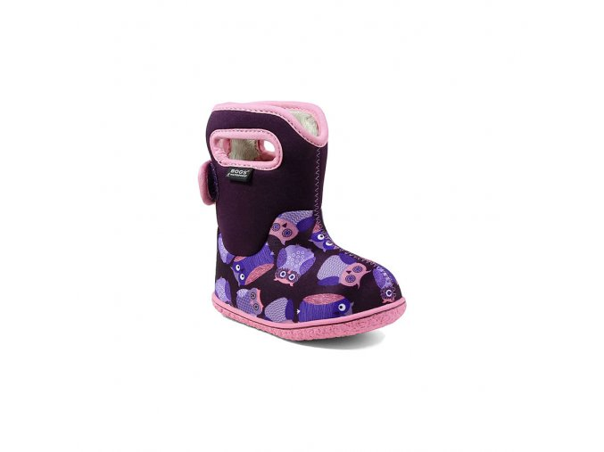 BABY BOGS CLASSIC Owls Purple Multi