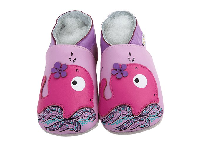 Chaussons cuir Baleine Front