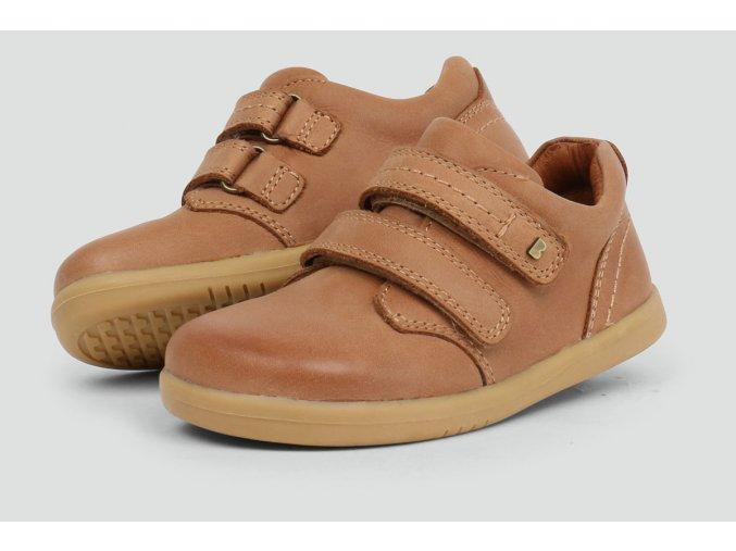 port shoe caramel