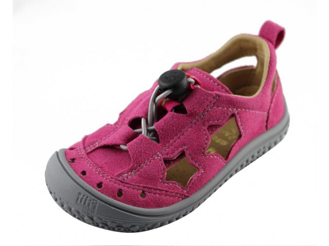 Filii barefoot Sandály Pink Stars Vegan M