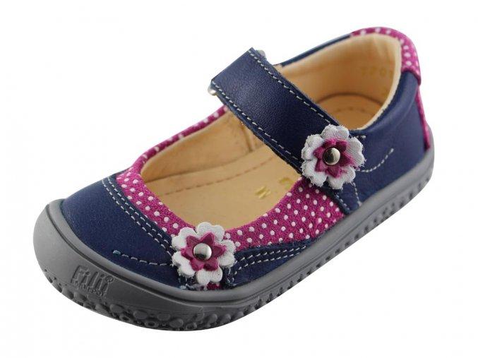 Filii Barefoot - Ballerina Ocean/pink/flower